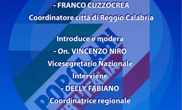 """""""L'Europa incompiuta"""", il 23 marzo l'incontro dei Popolari per l'Italia a Reggio Calabria"""